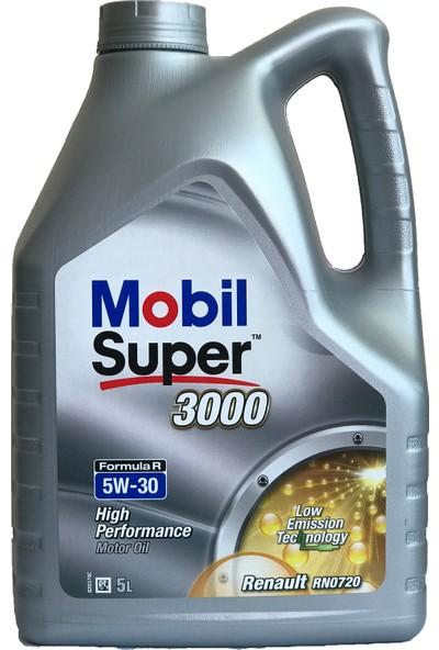Mobil Süper 3000 F-R 5W-30 5lt Renault Benzinli Dizel Motor Yağı