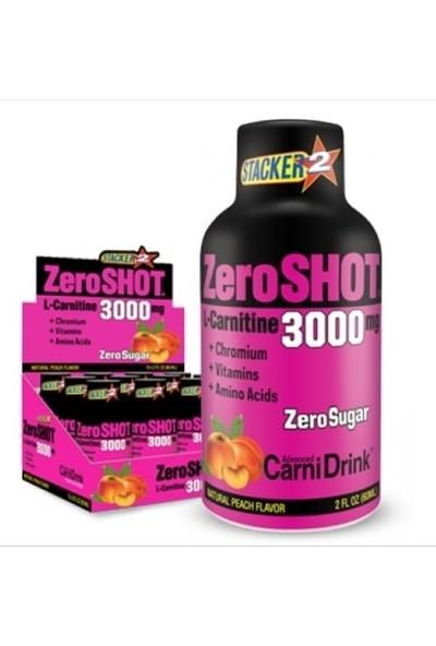 Zero Shot 3000 Mg L - Carnitine 60 ml X12 Adet / Şeftali Skt : 02/2011