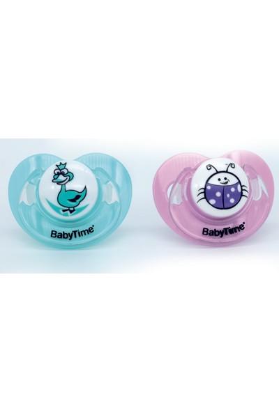 Babytime İkili Emzik Mavi - Lila