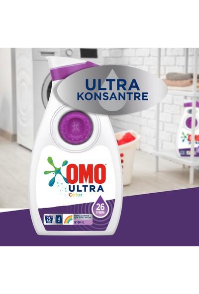 Omo Ultra Konsantre Sıvı Deterjan Color 910 ml