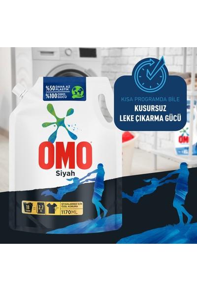 Omo Black Siyahlar için Sıvı Deterjan Çevre Dostu Paket 1170 ML