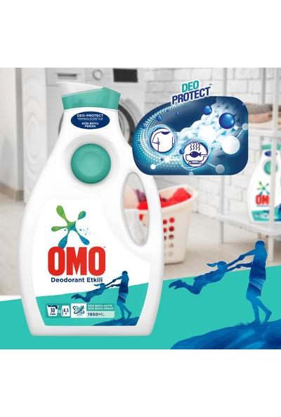 Omo Sıvı Çamaşır Deterjanı Deodorantlı 1950 ml