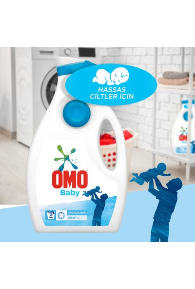 Omo Sıvı Deterjan Baby 1950 ml