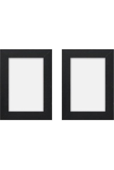 Hepsi Home Fotoğraf Çerçevesi Siyah 2'li Set 10 x 15 cm