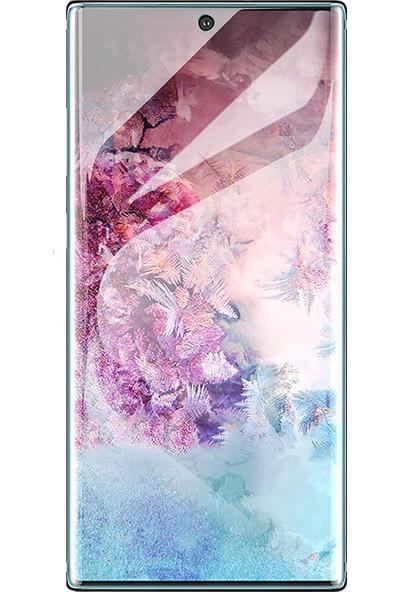 Case 4U Samsung Galaxy Note 10 Plus Ön Tam Ekran Kaplayıcı Film Zum Body Şeffaf