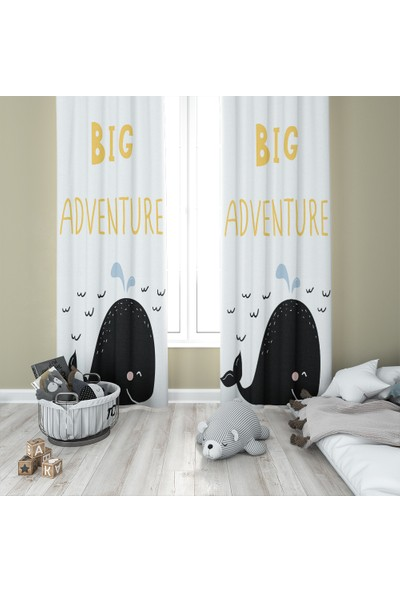 Karnaval Big Adventure Fon Perde - Çift Kanat