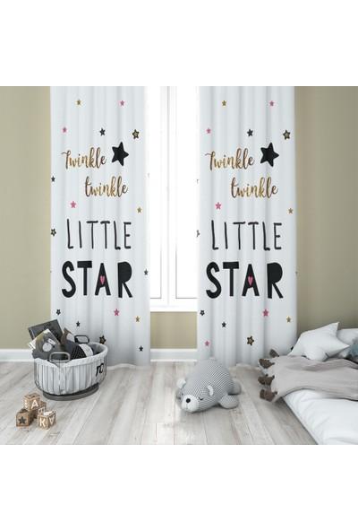 Karnaval Twinkle Star Fon Perde - Çift Kanat