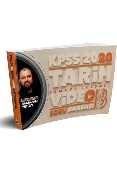 Benim Hocam 2020 KPSS Tarih Tamamı Çözümlü Video Soru Bankası - Ramazan Yetgin