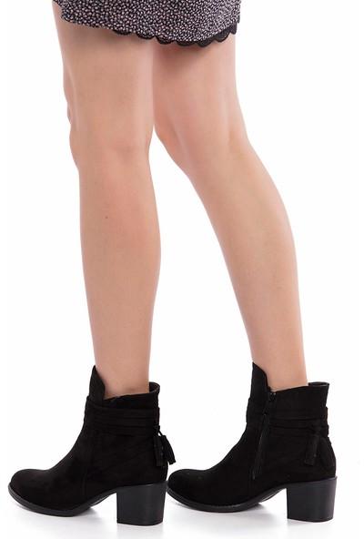 Muggo Clsw832 Topuklu Kadın Bot