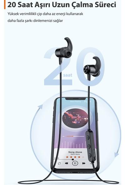 TaoTronics TT-BH076 Mıknatıslı Bluetooth 5.0 IPX6 Ter/Su Geçirmez Spor Kulaklık 20 Saat Müzik + Taşıma Kılıfı, 53-01000-201