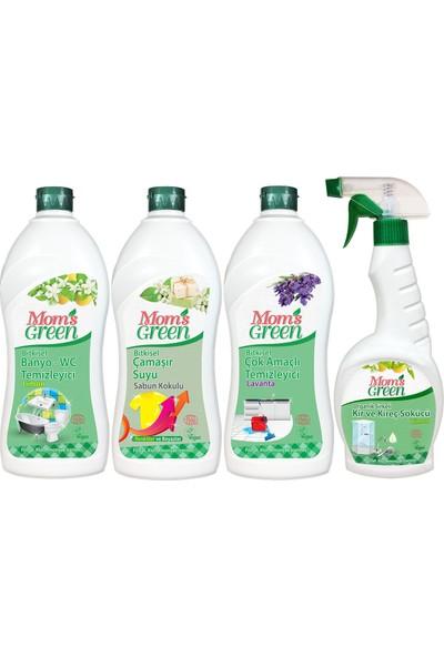 Mom's Green Bitkisel Banyo Temizlik Seti 4'Lü