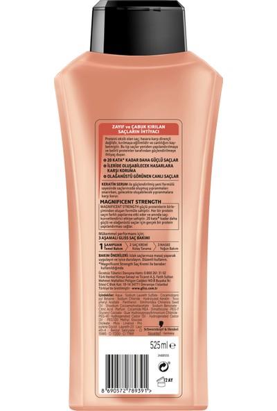 Gliss Magnıfıcent Strength Şampuan 525 Ml