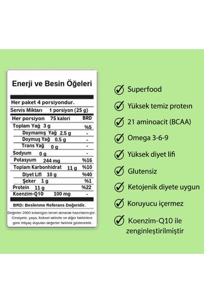 Vegovego Kenevir Kendir Tohumu Tozu - Çilek Aromalı 100 g