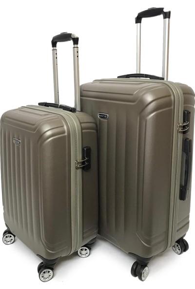 Mçs Lux Abs Valiz 2 Li Set Kabin-Orta