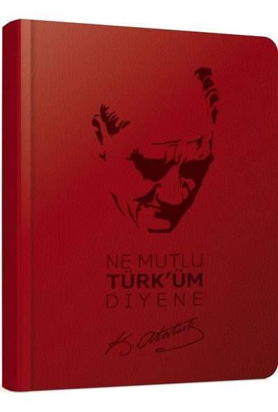 Gıpta 161-Akk Atatürk Diary 9 x 14 Günlük Ajanda