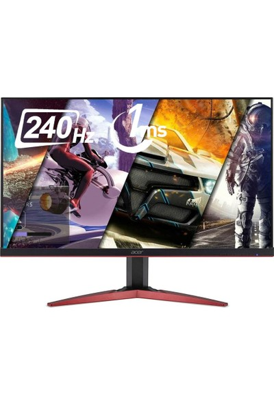 "Acer KG251QDbmiipx 25"" 240Hz 1ms (HDMI+Display) Full HD FreeSync Monitör"