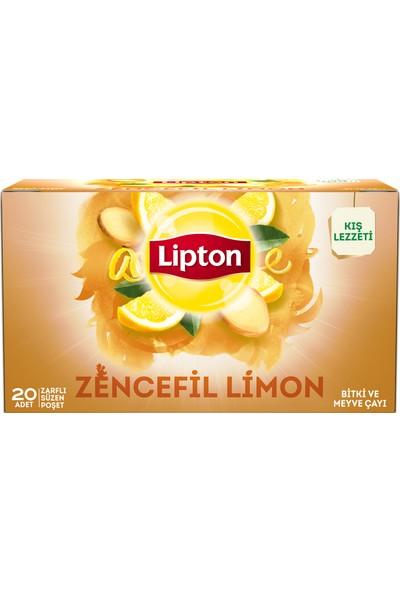 Lipton Bardak Poşet Bitki Ve Meyve Çayı Nane Limon 20'Li