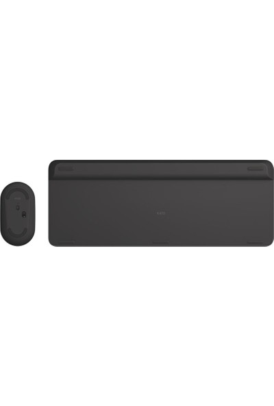 Logitech MK470 Kablosuz Klavye Mouse Set - Siyah