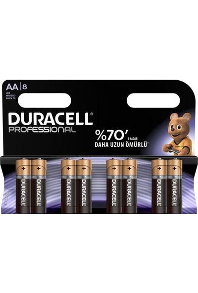 Duracell Professional Kalem Pil AA 8'li