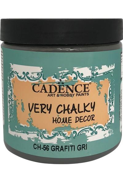Cadence Very Chalky Mobilya Boyası 500 ml CH56 Grafiti Gri