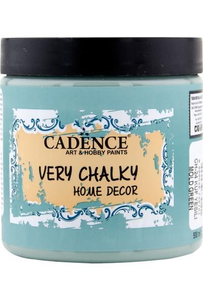 Cadence Very Chalky Mobilya Boyası 500 ml CH24 Küf Yeşili