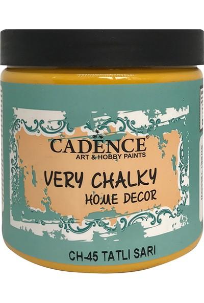 Cadence Very Chalky Mobilya Boyası 500 ml CH45 Tatlı Sarı