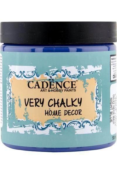 Cadence Very Chalky Mobilya Boyası 500 ml CH22 Gece Mavi