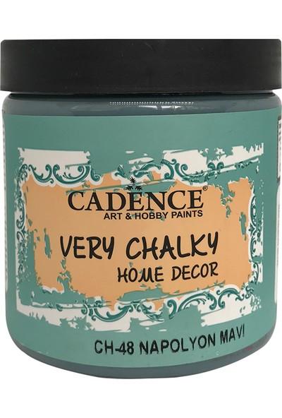 Cadence Very Chalky Mobilya Boyası 500 ml CH48 Napolyon Mavi