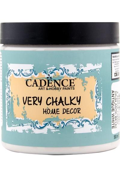 Cadence Very Chalky Mobilya Boyası 500 ml CH04 Antik Beyaz