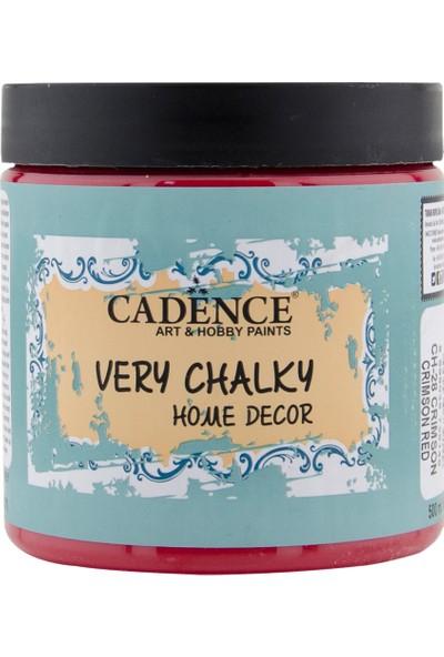 Cadence Very Chalky Mobilya Boyası 500 ml CH28 Crimson Kırmızı