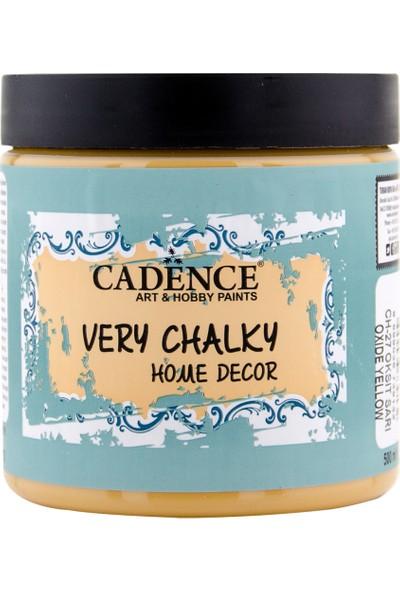 Cadence Very Chalky Mobilya Boyası 500 ml CH27 Oksit Sarı