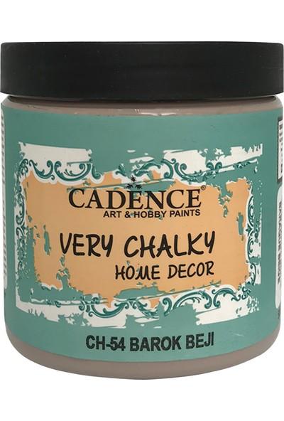 Cadence Very Chalky Mobilya Boyası 500 ml CH54 Barok Bej