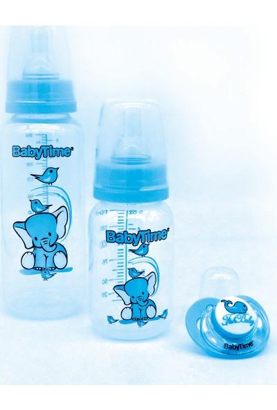 Baby Time Üçlü Set Pp - Mavi