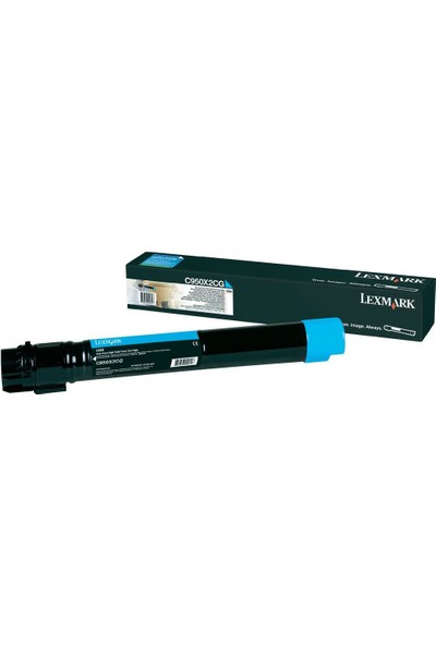 Lexmark C952De Toner 22.000 Sayfa Mavi