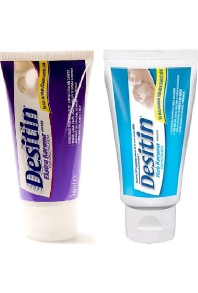 Marka Desitin Hızlı Koruma Pişik Önleyici Krem 50 ml + Nappy Ekstra Koruma Pişik Kremi 75 ml