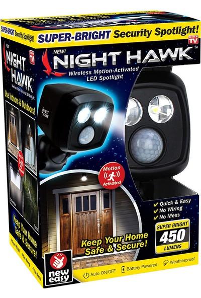 Night Hawk Kablosuz Otomatik Hareket Sensörlü Dış Ortam Aydınlatması
