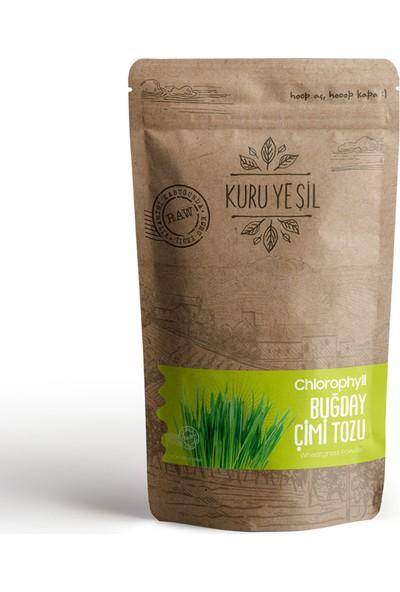 Kuru Yeşil Organik Buğday Çimi Tozu