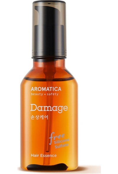 Aromatica Argan Damage Care Hair Essence - Argan Yağı Vegan Saç Bakım Esansı