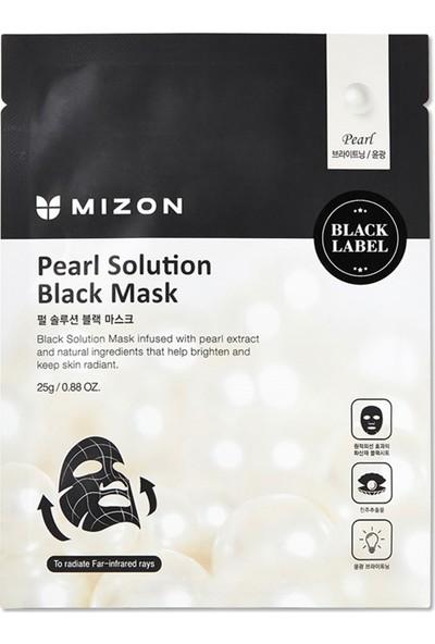 Mizon Pearl Solution Black Mask - İnci Tozu ile Işıltı Artırıcı Maske