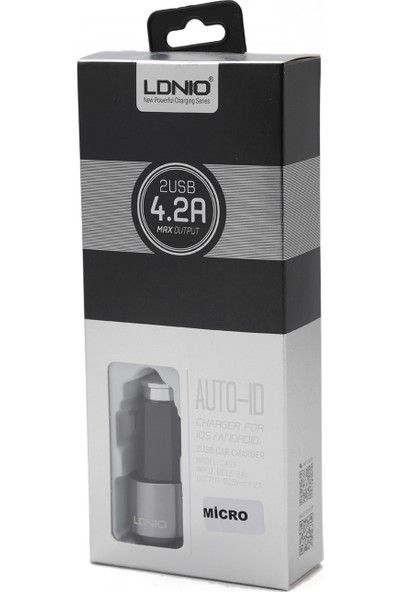 Ldnıo C403 Araç Şarj Cihazı + Micro USB Kablo
