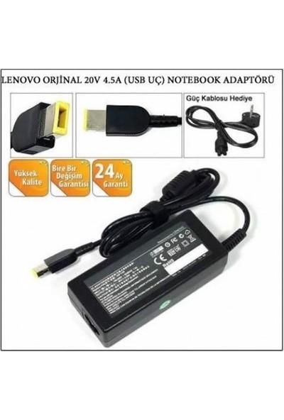 Nivatech Lenovo USB Uç Laptop-Notebook Şarj Aleti 20V 4.5A