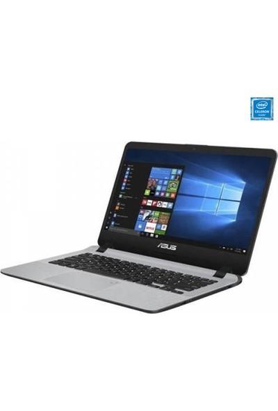 "Asus X507MA-BR001T Intel Celeron N4000 4GB 500GB Windows 10 Home 15.6"" Taşınabilir Bilgisayar"