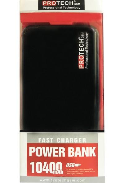 Protech Pro B10 Powerbank 10400 mAh Siyah