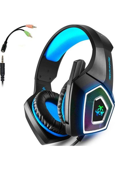 Arkartech Ps4 Gaming Headset, Wired Pc Gaming Headset With Mic, 3.5mm Over-Ear Bass Stereo Taç Kulaklık