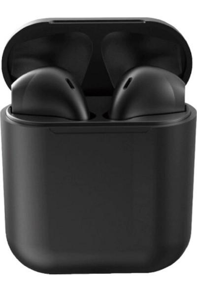 Inpods Tws 12 Dokunmatik Bluetooth Kulaklık V 5.0 Siyah
