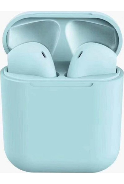 Inpods Tws 12 Dokunmatik Bluetooth Kulaklık V 5.0 Mavi