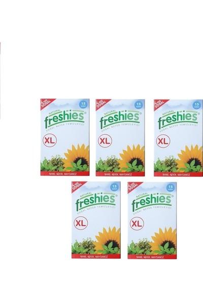 Freshıes XL Doğal Ağız Koku Giderici 15'li x 5 Kutu