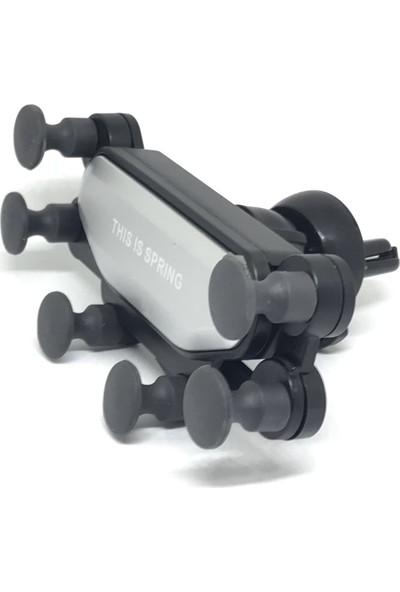Sincap Araç İçi 6 Kollu Ahtapot Telefon Tutucu Otomatik Kavramalı