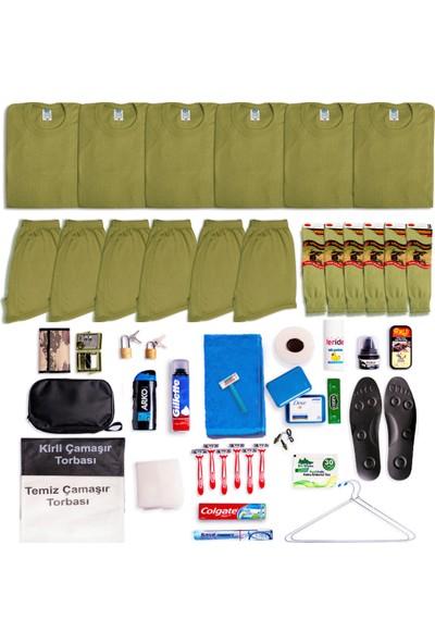 6'lı Tavsiye Asker Malzeme Seti - Askeri Malzeme Kolisi