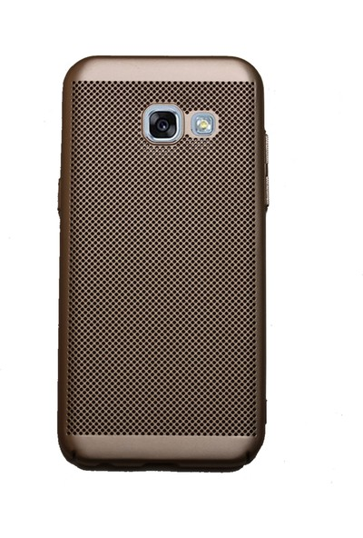 Markaavm Samsung Galaxy A320 Fileli Rubber Kılıf Rose Gold